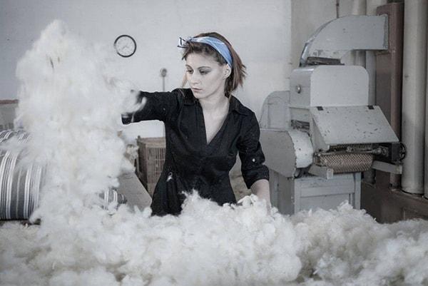 laine de mouton | artisan matelassier litier Le Briand