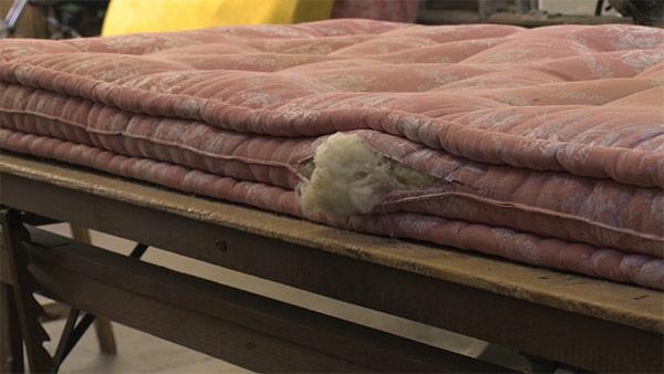 réfection de matelas en laine | Paris | matelassier Le Briand