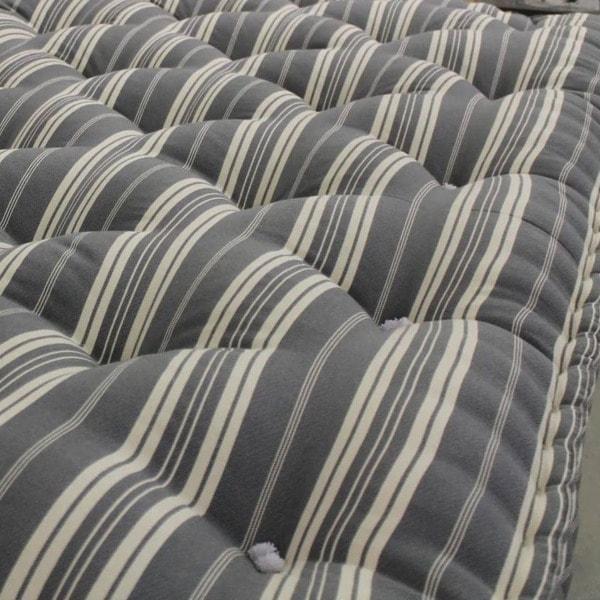 surface du matelas de laine